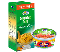 Ice Cream Delightfully Tasty Kesar Pista