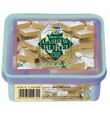 Premium Cashew Burfi