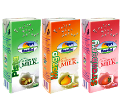 Flavoured Milk Pista Mango Strwaberry