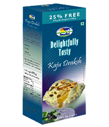 Ice Cream Delightfully Tasty Kaju Draksh